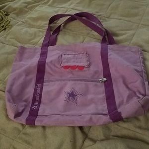 American Girl tote bag